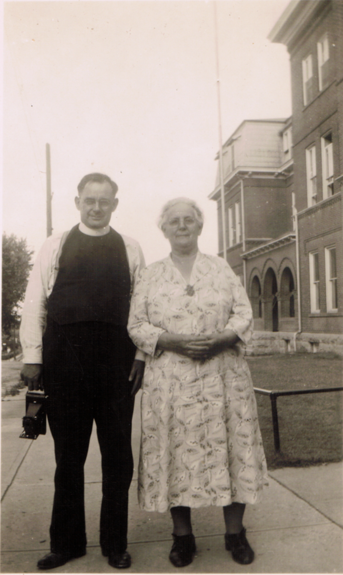 Father Norbert with his mother, or one of his aunts.jpg